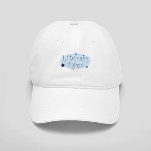 """Literary Diva"" [blue] Cap"